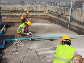 Water Proofing Work Inspection